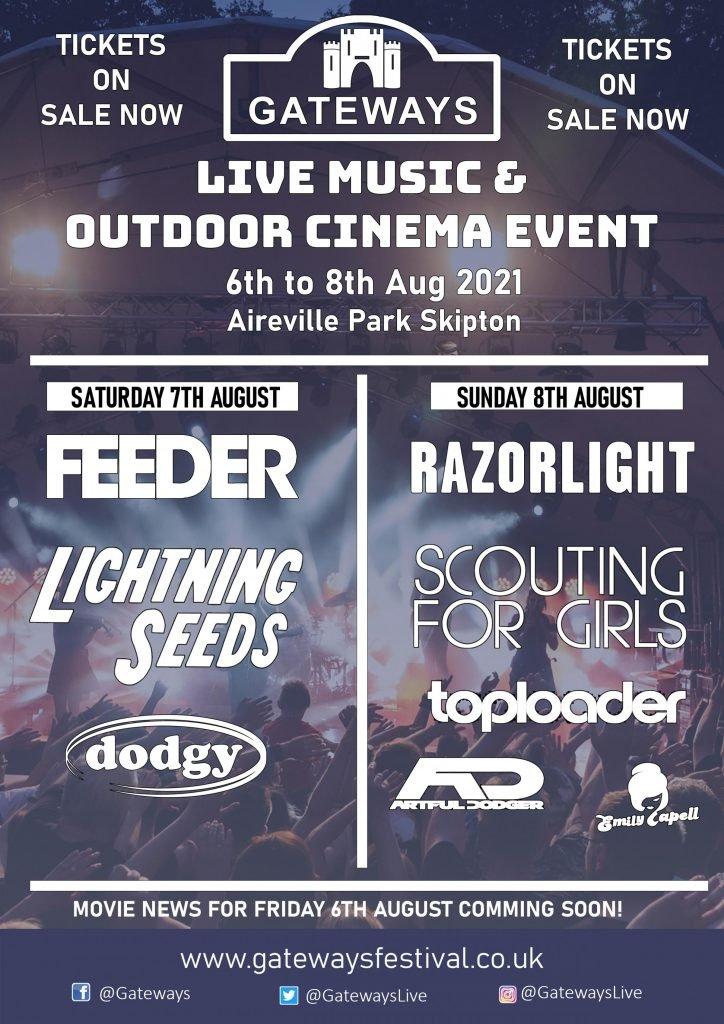 Gateways Festival, August 2021